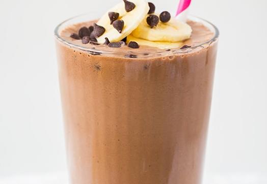 CBD Cacao Peanut Butter Banana Shake