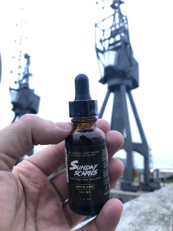 Sunday Scaries CBD Oil Tincture